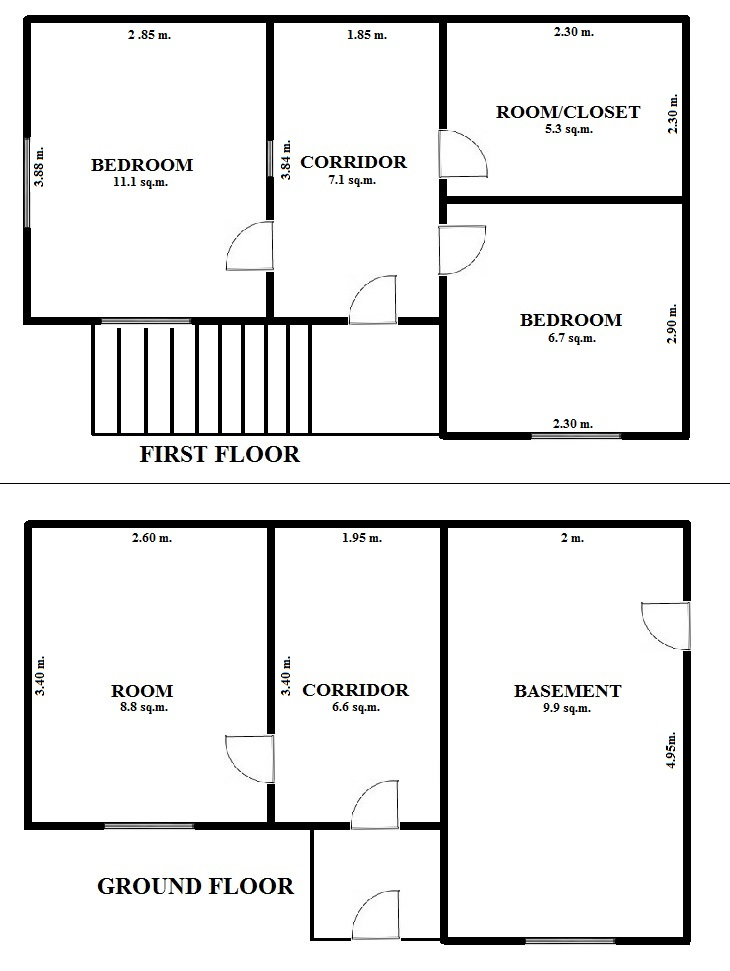 Floorplan Hill House (click to view)