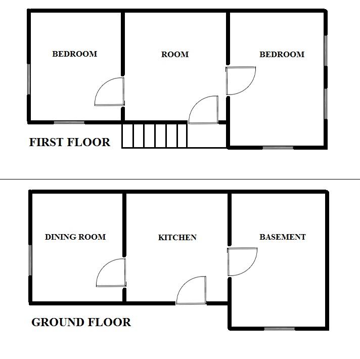 Floorplan Stripe House (click to view)