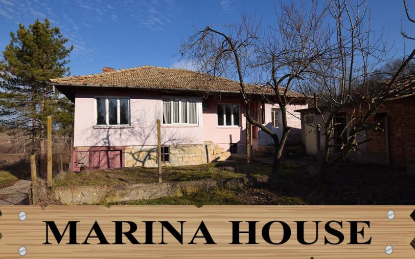 SOLID BULGARIAN HOUSE NEAR A SPRING WITH HEALING WATER!!