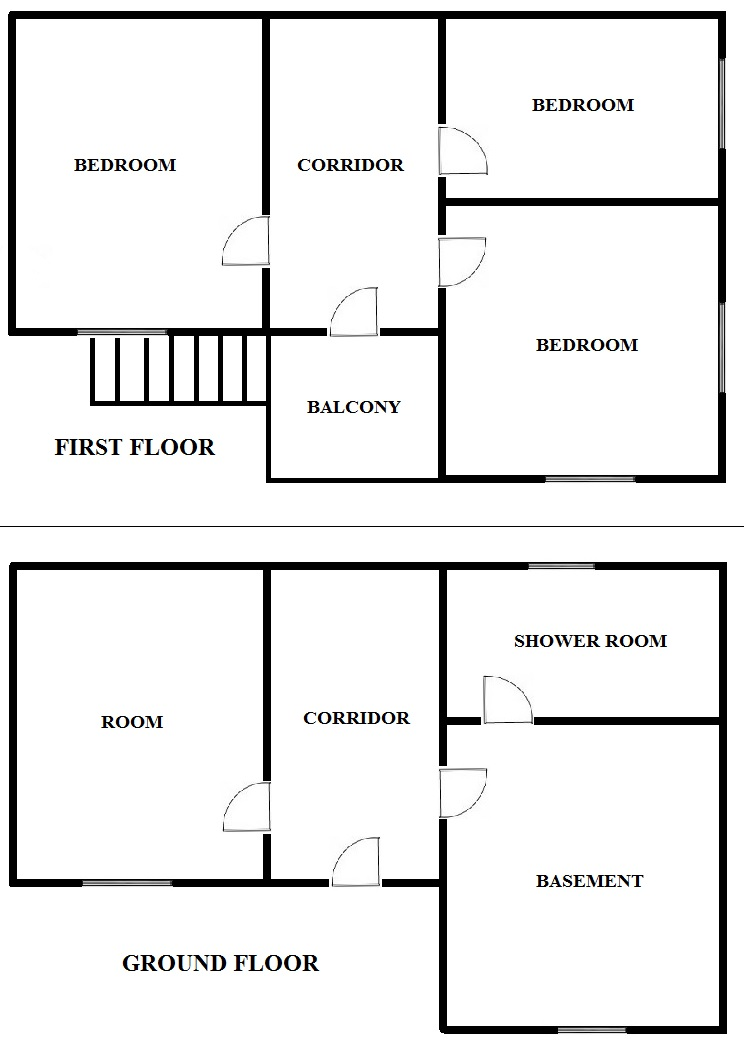 Floorplan Temple House (click to view)