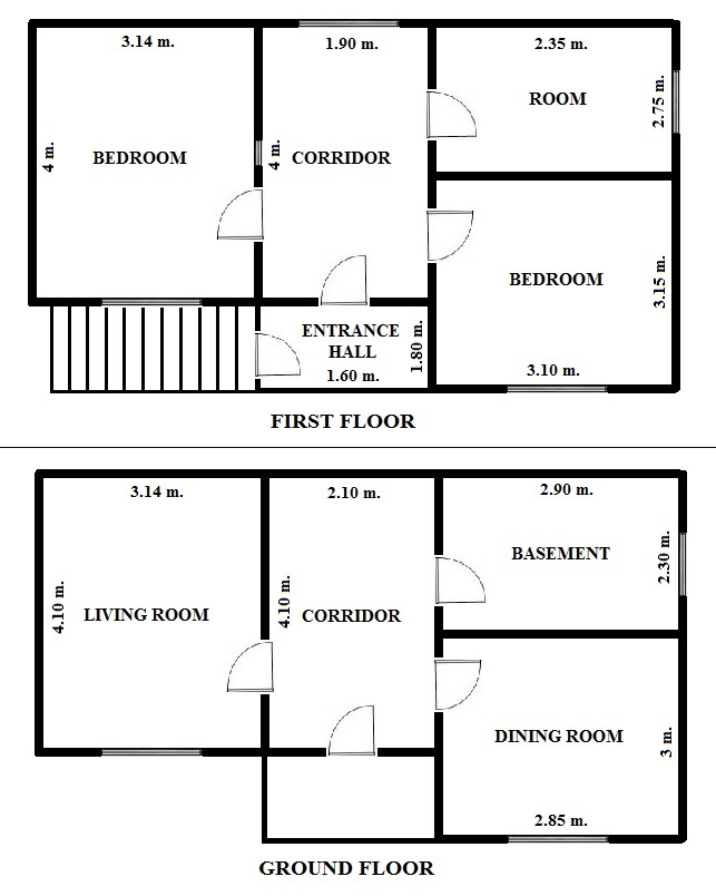 Floorplan Square House (click to view)