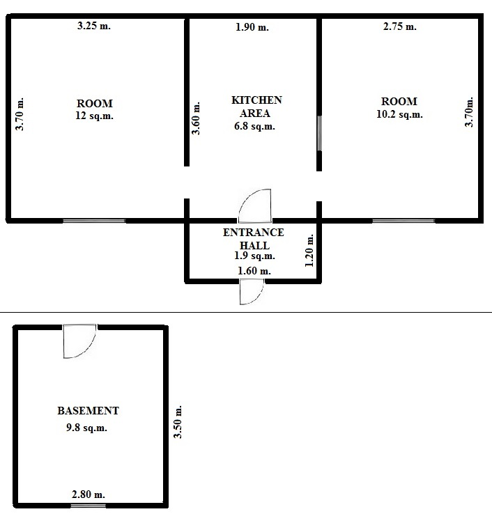 Floorplan Neat House (click to view)