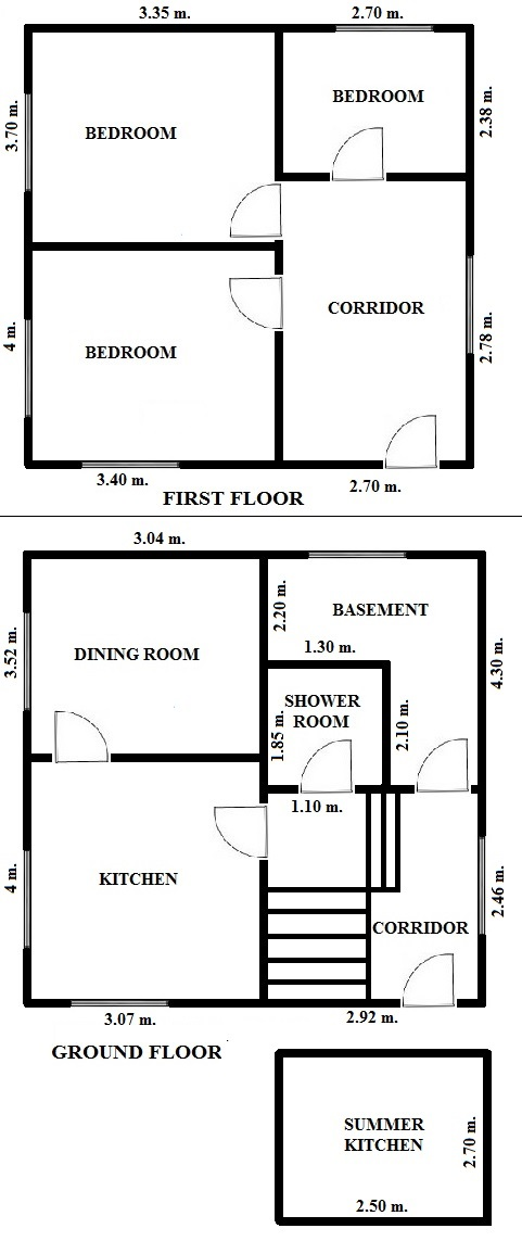 Floorplan Dart House (click to view)