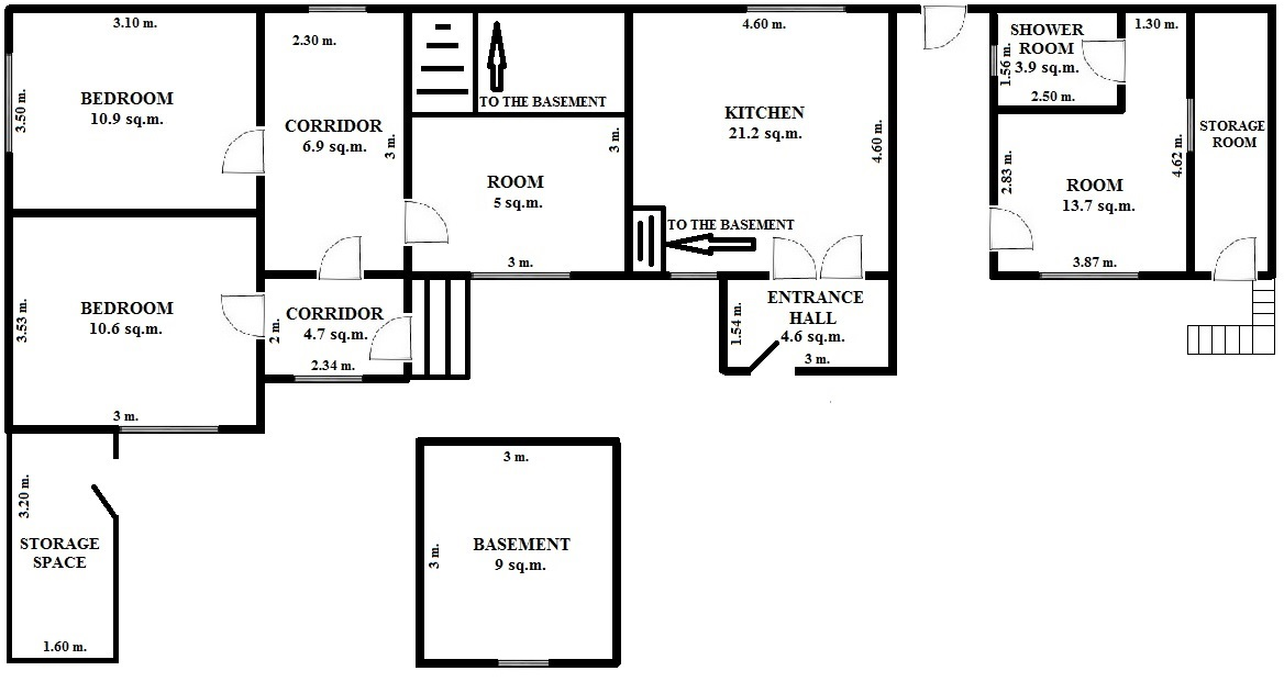 Floorplan One House (click to view)