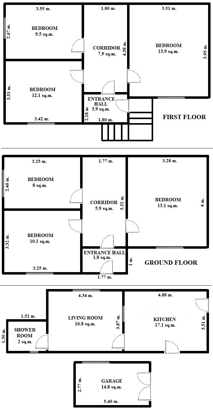Floorplan Delta House (click to view)