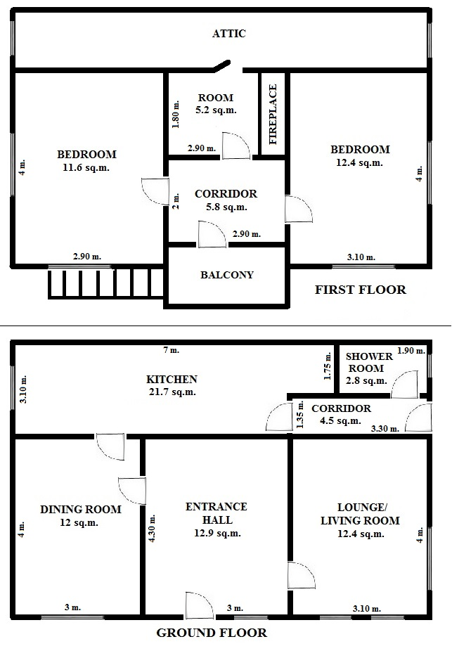 Floorplan Basil House (click to view)
