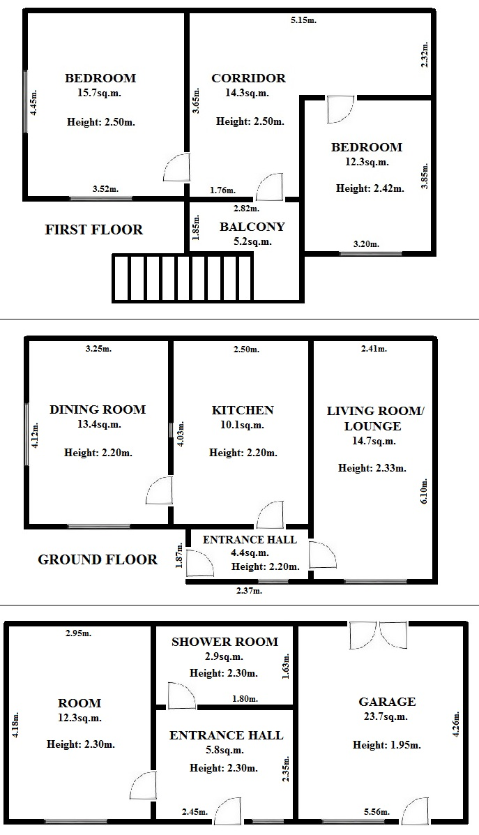 Floorplan Boath House (click to view)