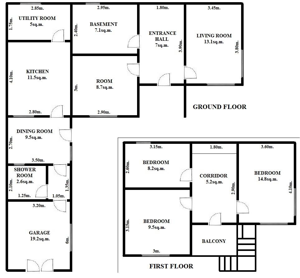 Floorplan Cornel House (click to view)