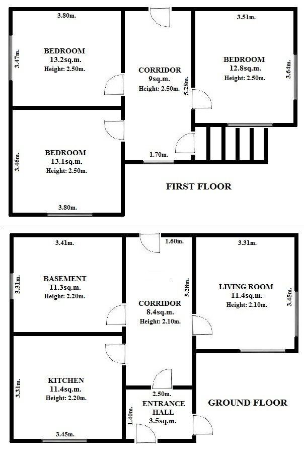 Floorplan Journey House (click to view)