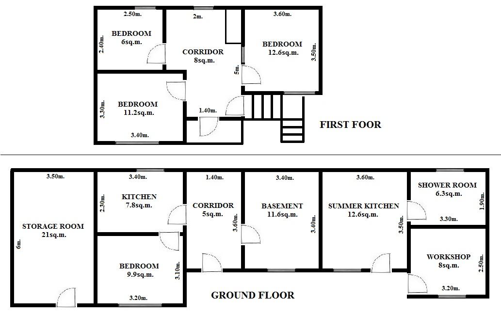 Floorplan Libra House (click to view)