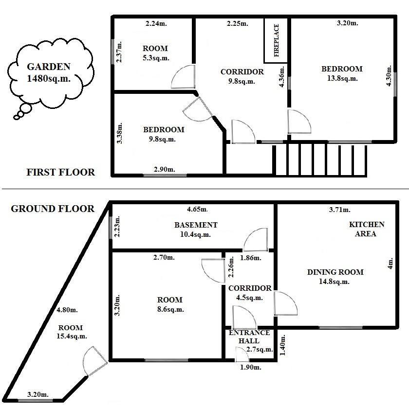 Floorplan Corner House (click to view)