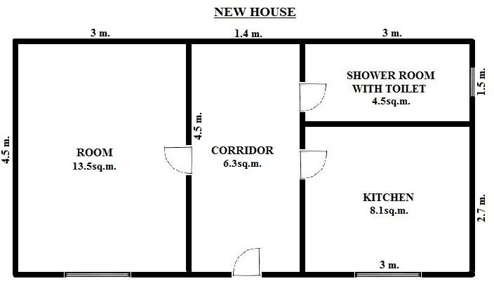 Floorplan Mayfar Pro Houses - New House (click to view)