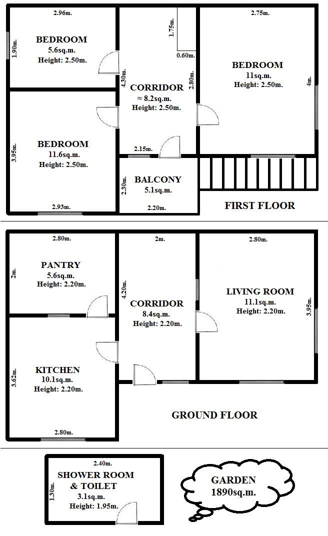 Floorplan Mulberry House (click to view)