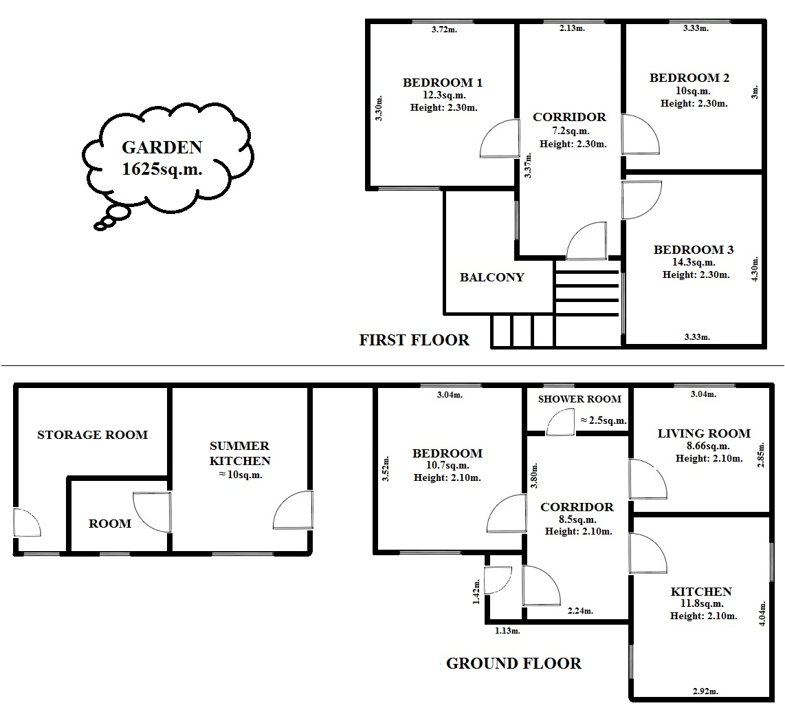 Floorplan Astra House (click to view)