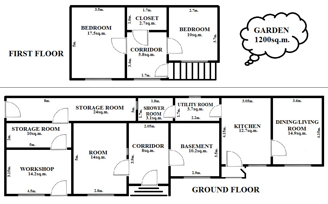 Floorplan Tailor House (click to view)